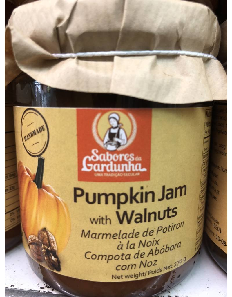 Sabores da Gardunha Pumpkin Jam with Walnuts - 270g