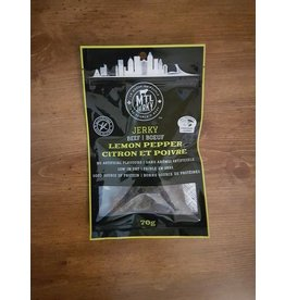 Mtl Jerky Jerky Meat - Lemon Pepper - 70g