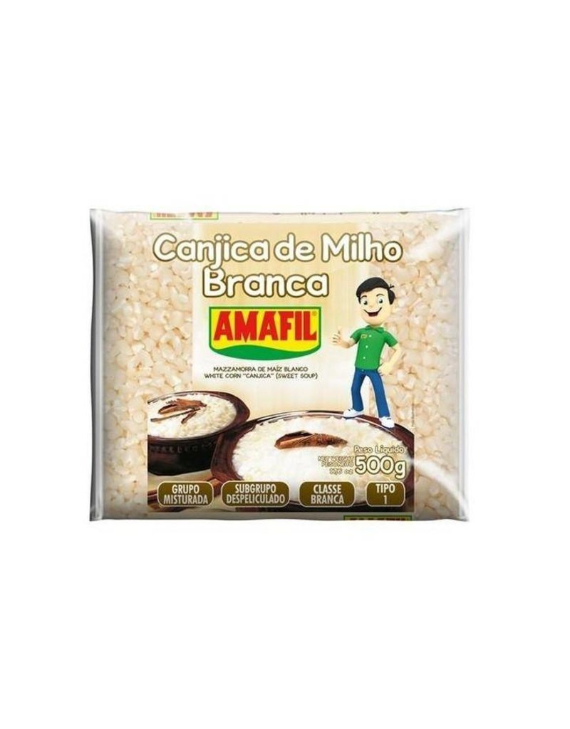 Amafil White Corn - Canjica Branca - 500g