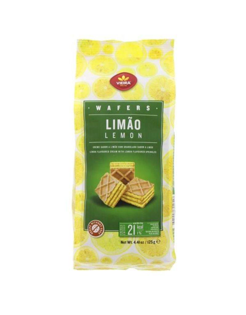 Vieira Lemon Wafers - 125g
