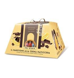 Tre Marie Panettone Alla Crema Pasticcera - 850g
