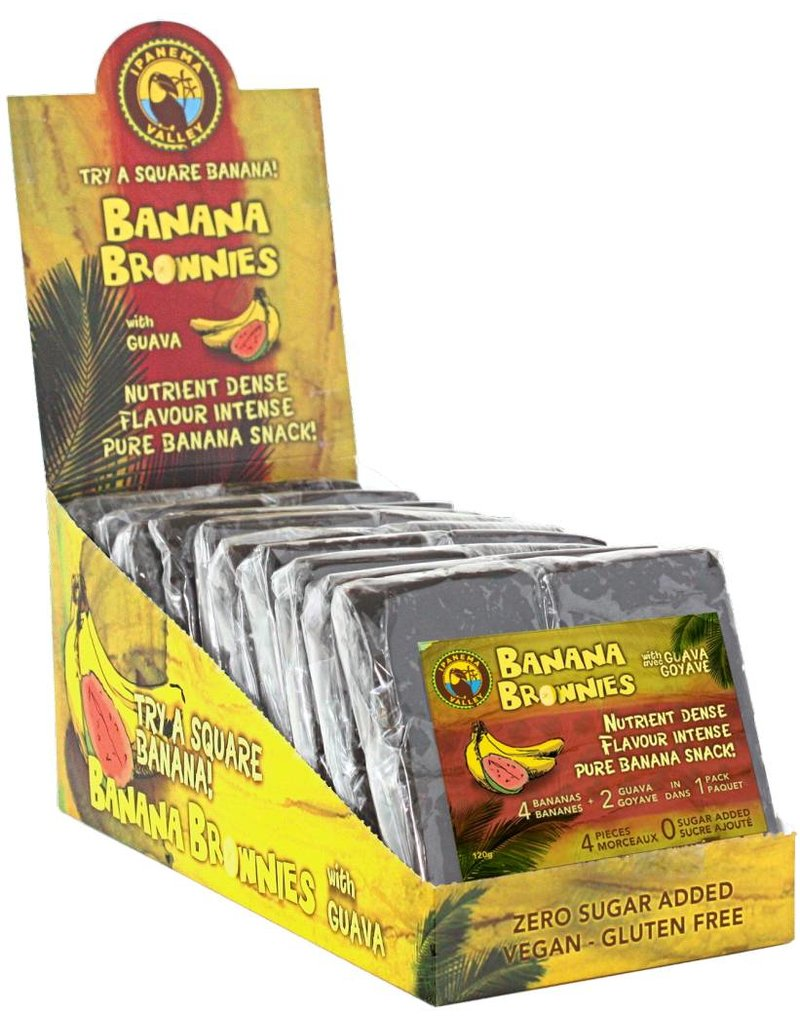 Ipanema Valley Banana Brownies with Guava - 120g