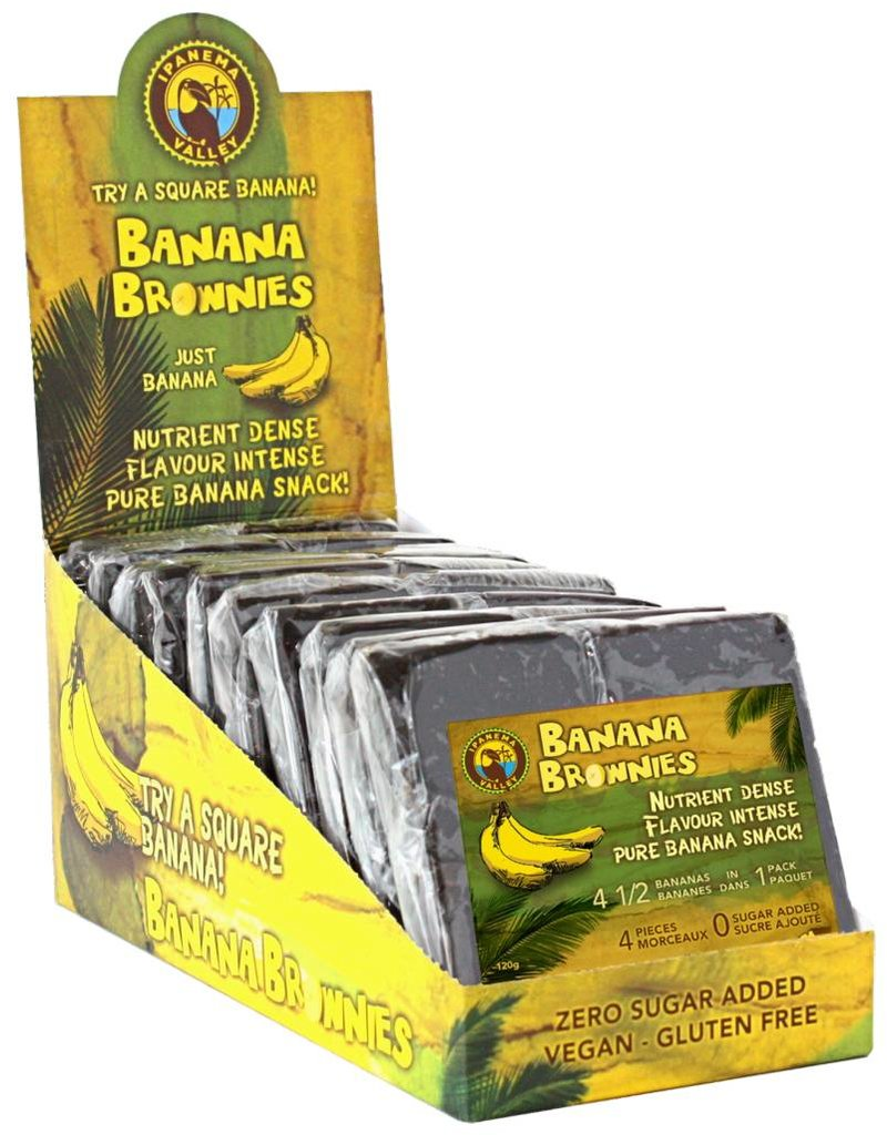 Ipanema Valley Banana Brownies - 120g