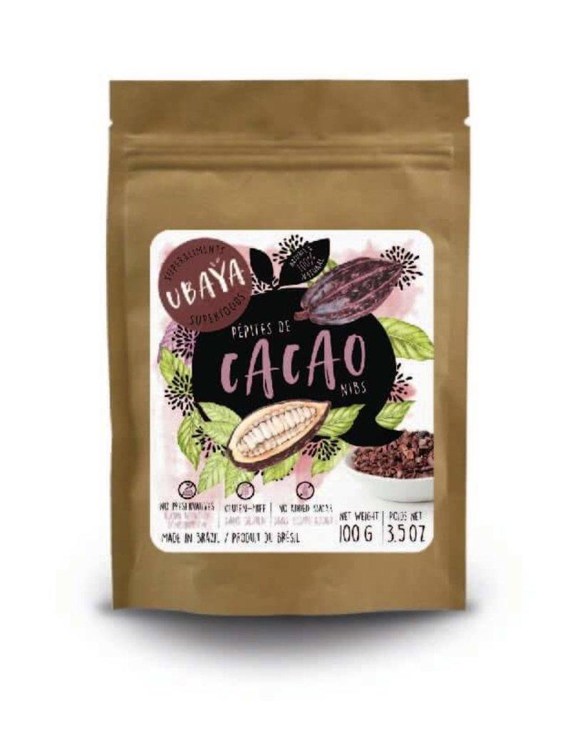 Ubaya Foods Cacao Nibs - 100g