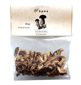 Les Saveurs du Terroir Dried Mushrooms - Ceps from Canada
