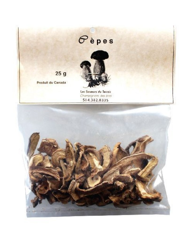 Les Saveurs du Terroir Les Saveurs du Terroir - Dried and Wild Mushrooms - Ceps from Canada