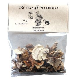 Les Saveurs du Terroir Dried Mushrooms - Nordic Mix - 25g