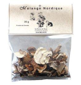 Les Saveurs du Terroir Dried Mushrooms - Nordic Mix - 25g