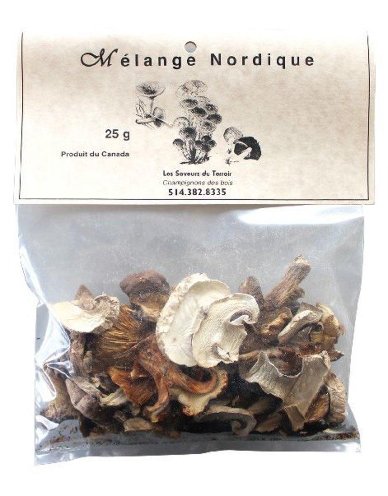 Les Saveurs du Terroir Les Saveurs du Terroir Dried Mushrooms - Nordic Mix - 25g