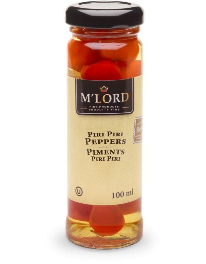 M'Lord Piri Piri Peppers - 100ml