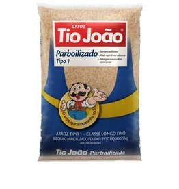 Tio Joao Arroz Parboilizado - 907g