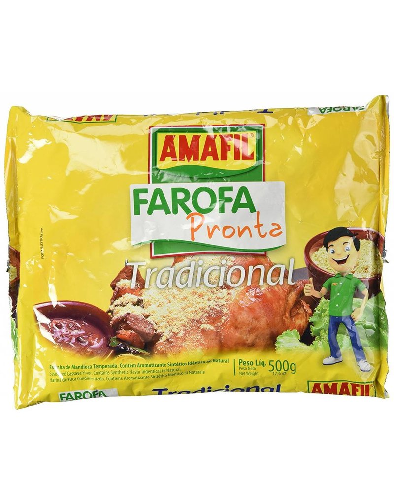 Amafil Farofa (yucca crumbs) - 500g