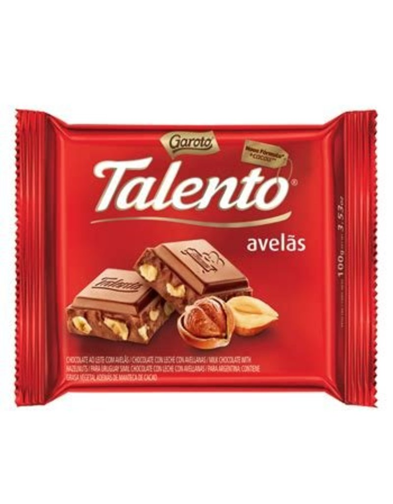 Garoto Chocolate Hazelnut - 100g