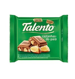 Garoto Chocolate Talento Brazil Nuts - 100g