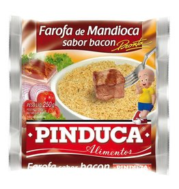 Pinduca Cassava Crumbs - Farofa - Bacon 250g