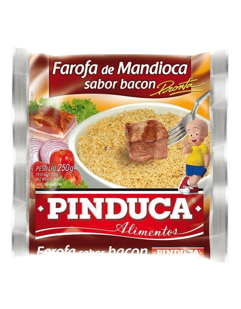 Pinduca Cassava Crumbs - Farofa - Bacon 250g
