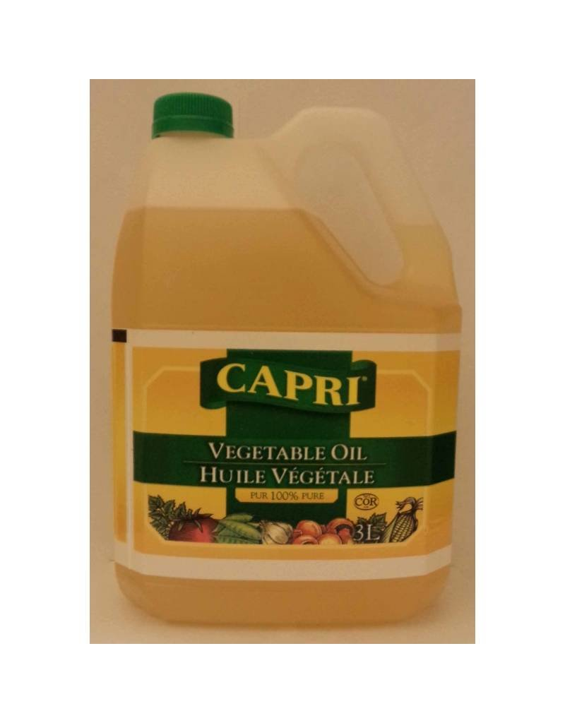 Capri Vegetable Oil - 3 lt