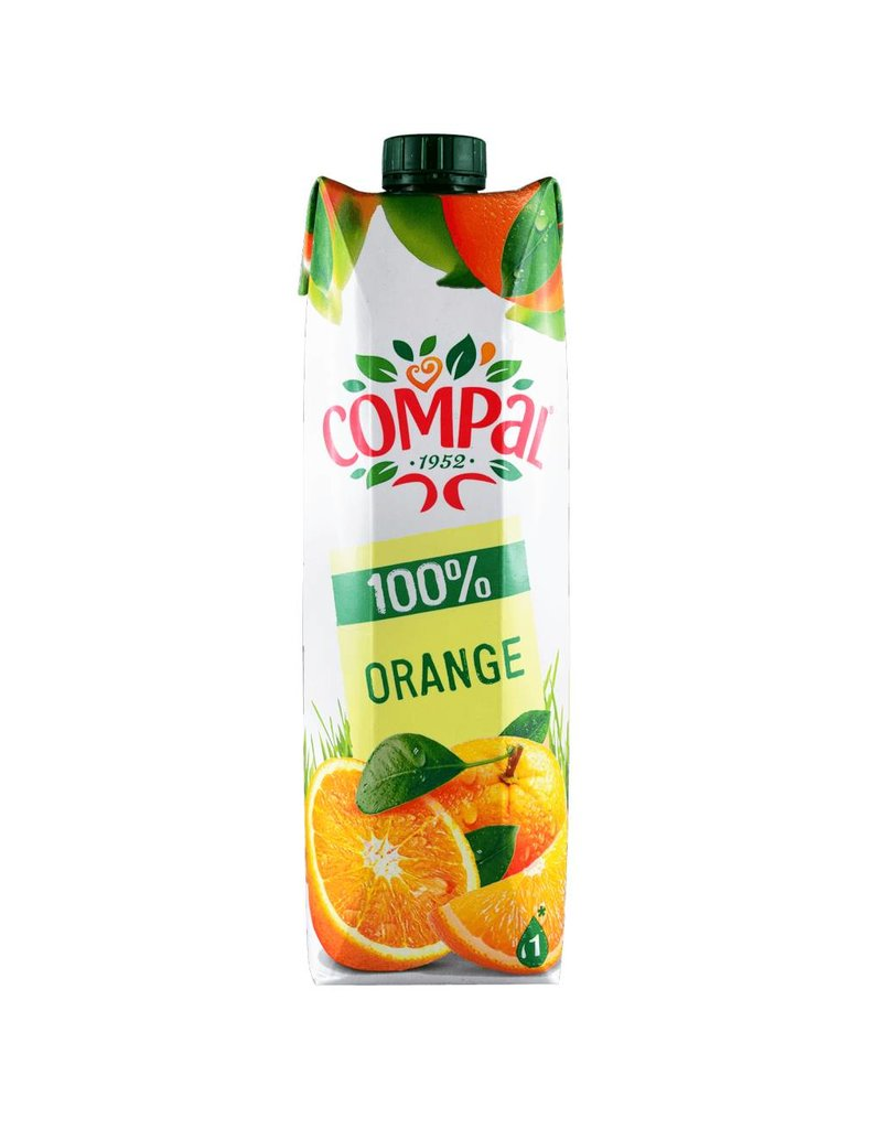 Compal Orange Juice - 1 lt