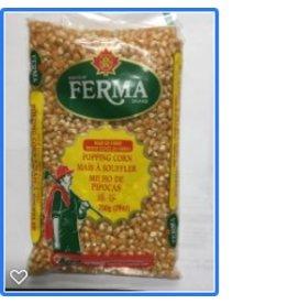 Ferma Dry Popping Corn - 750g