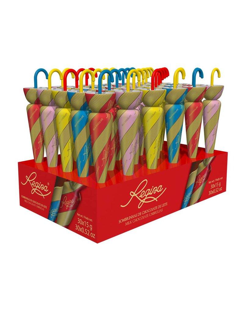 Chocolate Regina Chocolate umbrellas - 15g