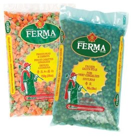 Ferma Green Peas - frozen - 750g