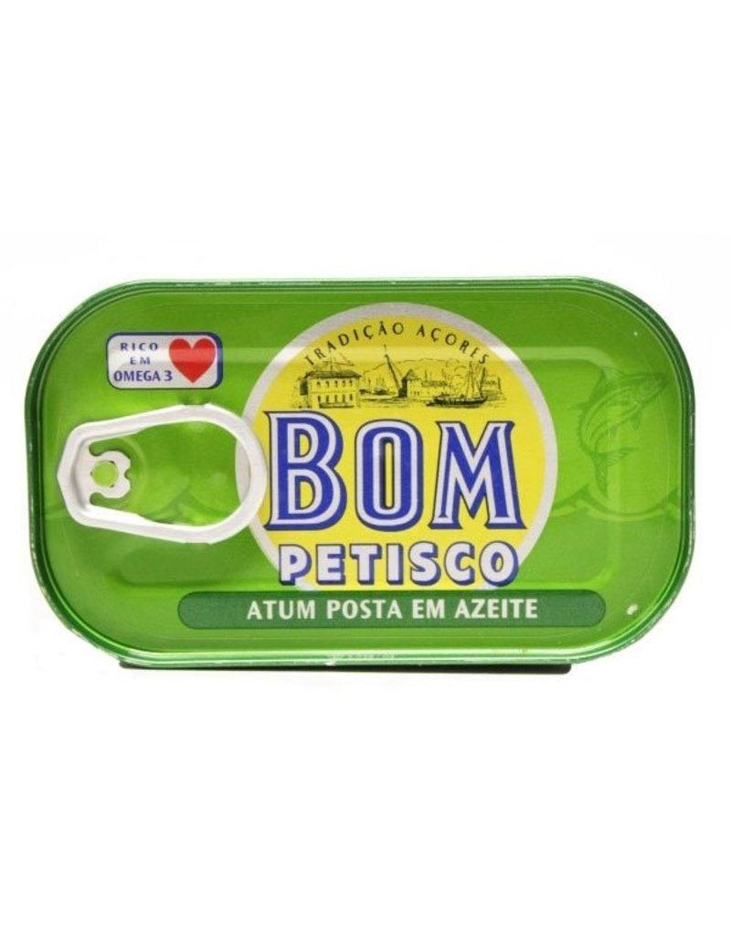 Bom Petisco Tuna in Olive Oil - 120g