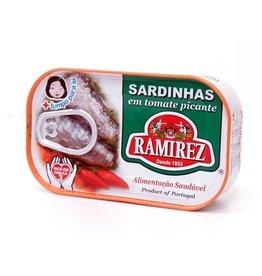 Ramirez Sardines - Hot Tomatoes - 125g