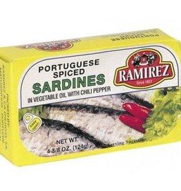Ramirez Sardines - Spiced - 90g