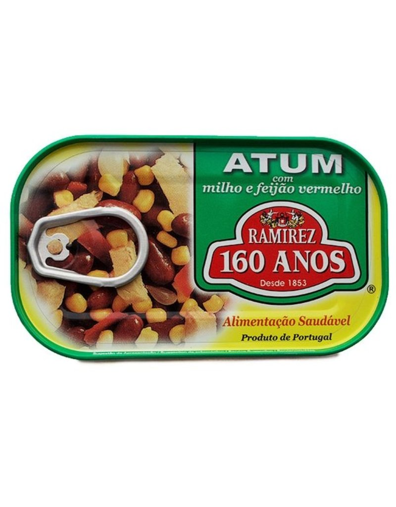 Ramirez Tuna with Red Beans and Corn -120g