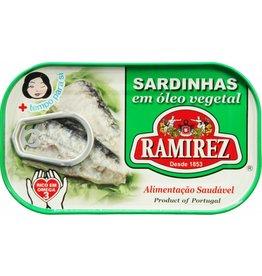 Ramirez Sardines in Vegetable Oil - 120g