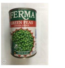 Ferma Ervilhas Verdes - 398 ml