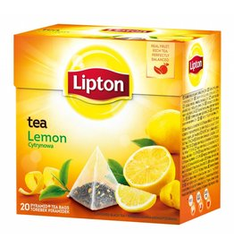 Lipton Tea - Pyramid tea bags - Lemon - 20g