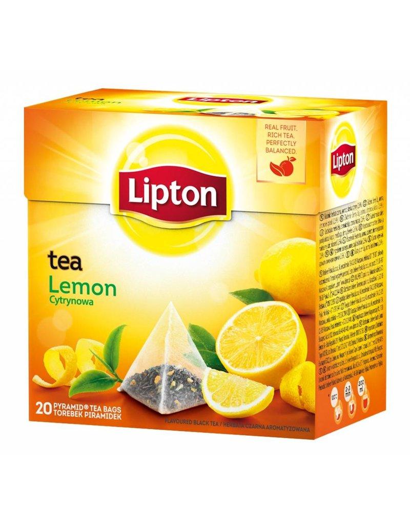 Lipton Tea - Pyramid tea bags - Lemon - 20g