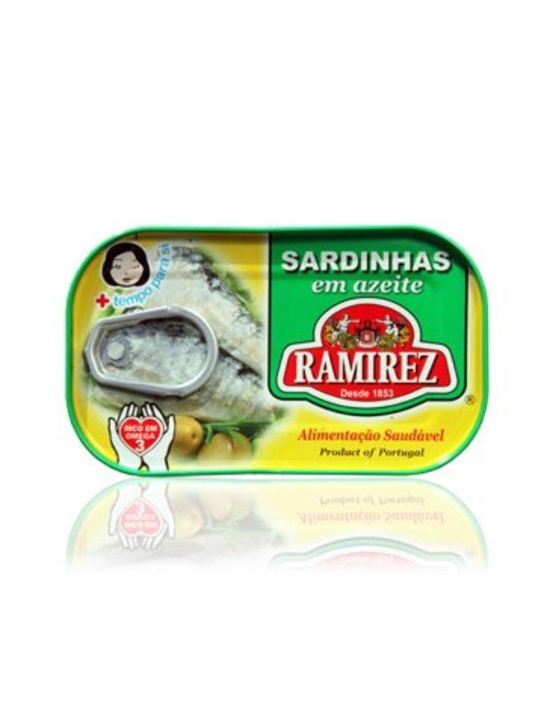 Ramirez Sardines in Olive Oil - 120g