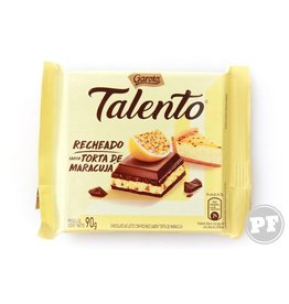 Garoto Chocolate with Passion Fruit - 90g