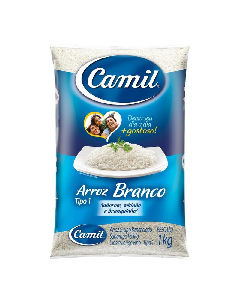 Camil Long white rice - 2.27kg