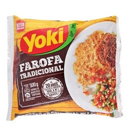 Yoki Cassava Crumbs - traditional - Farofa - 500g