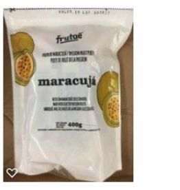 Frutae Polpa de Maracujá - 400 g (congelada)