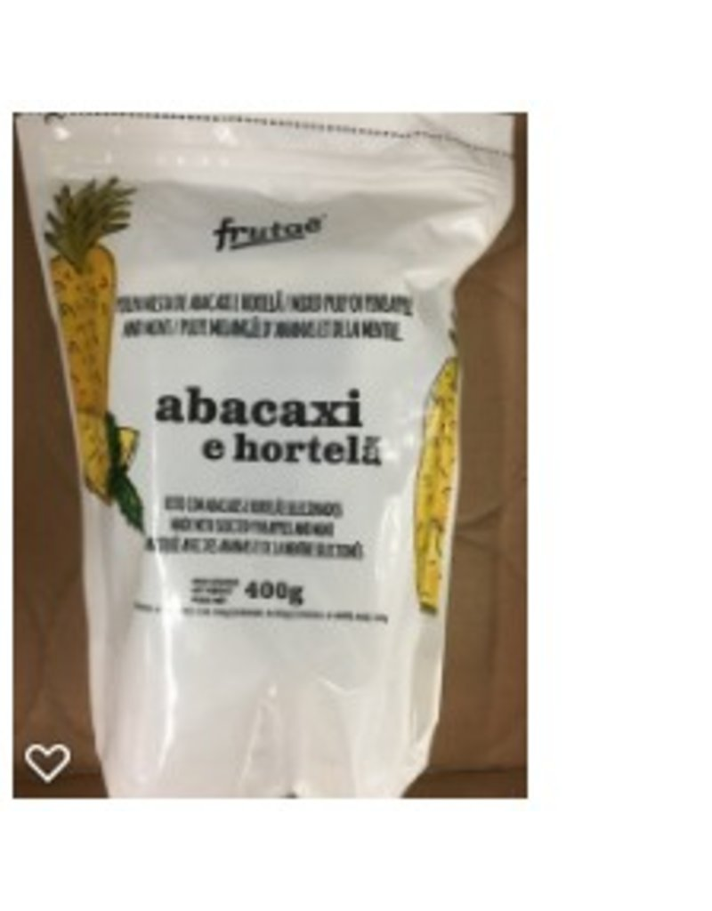 Frutae Pineapple and Mint pulp - 400g (frozen)