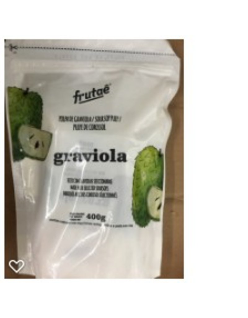 Frutae Soursop pulp - 400g - frozen