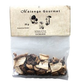 Les Saveurs du Terroir Dried Mushrooms - Gourmet Mix - 25g