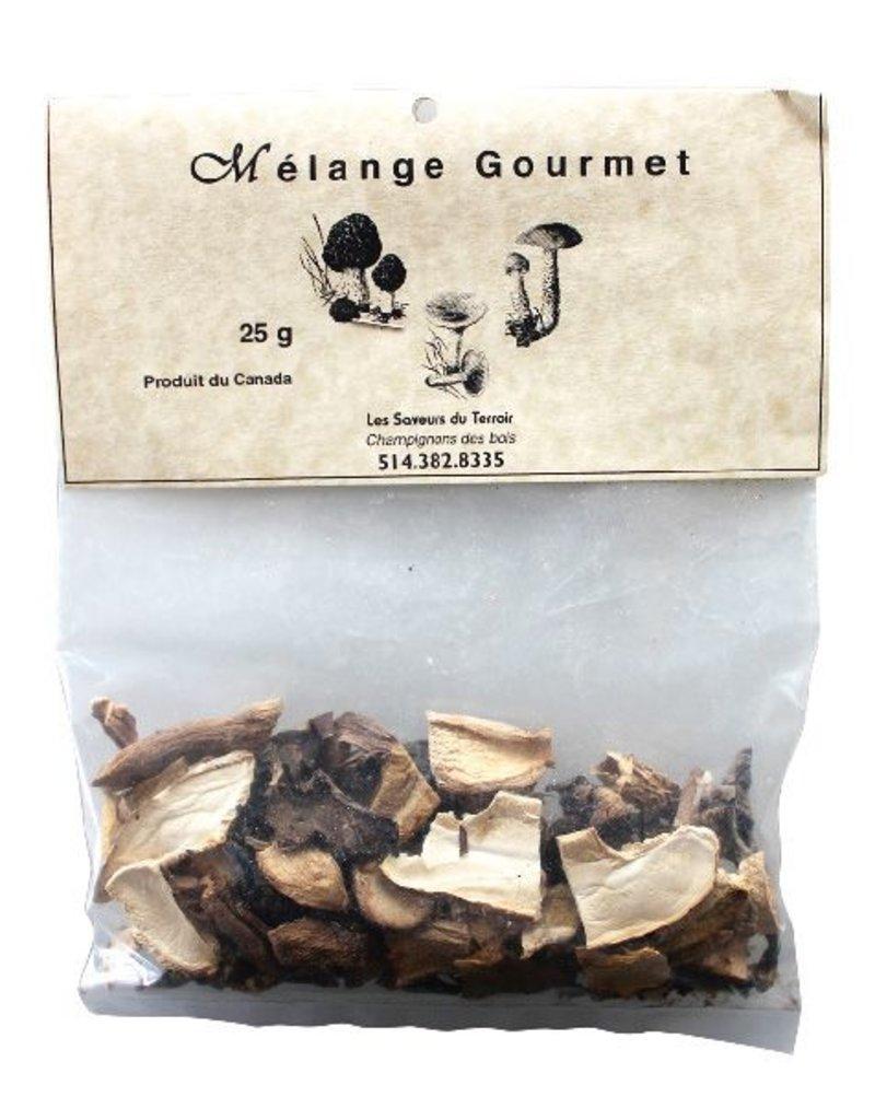 Les Saveurs du Terroir Les Saveurs du Terroir - Dried Mushrooms - Gourmet Mix - 25g