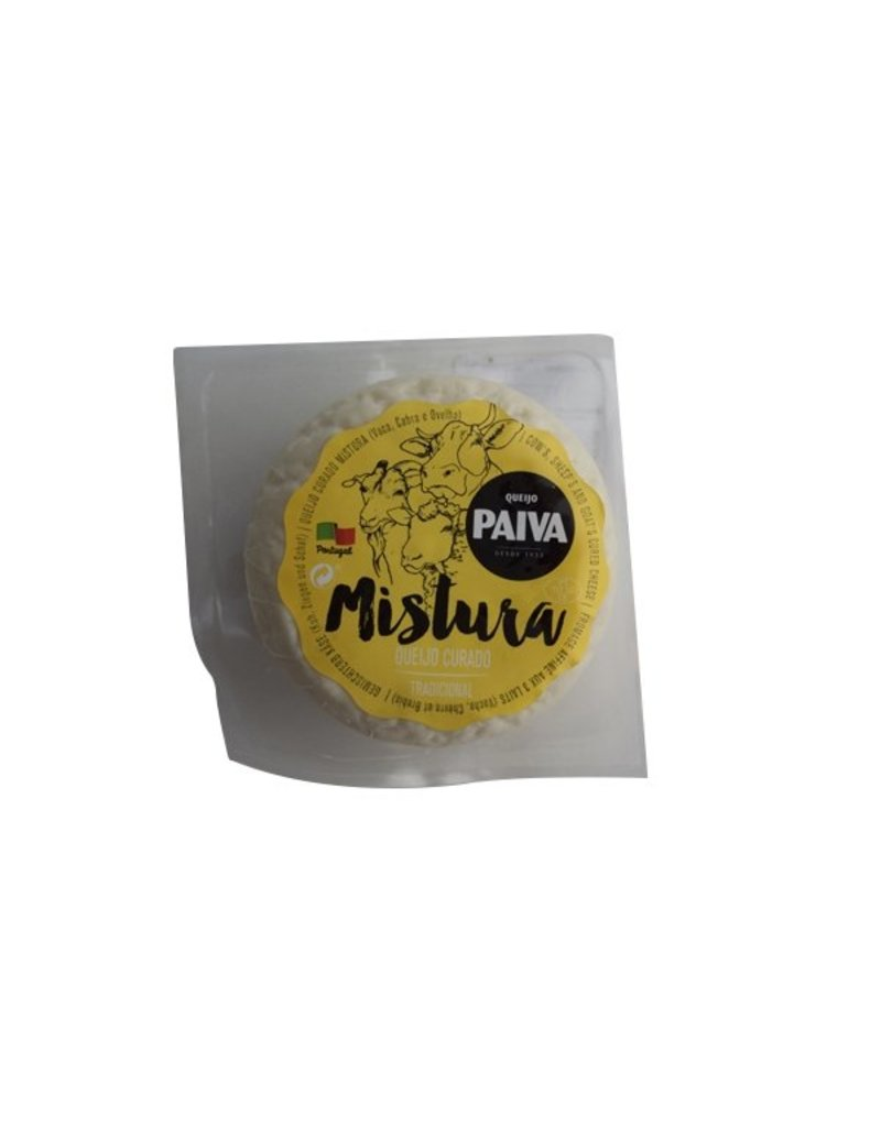 Queijo Paiva Cured Mixed Cheese - cow - sheep - goat -  190g