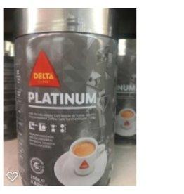 Delta Coffee - Delta Platinum - Ground - 250g