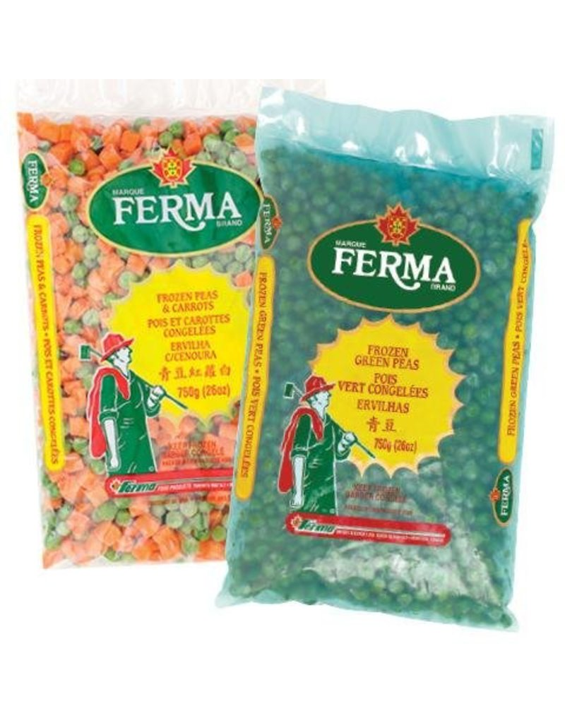 Ferma Peas and Carrots Frozen - 750g