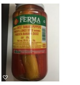 Ferma Sweet banana peppers - 750 ml