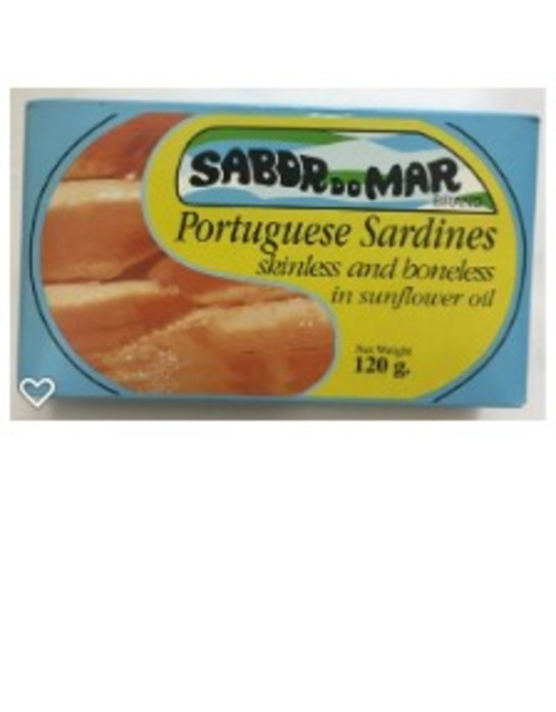 Sabor do Mar Sardines - boneless, skinless - 120g