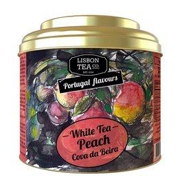 Lisbon Tea Chá Branco Pêssego Cova da Beira - 35g