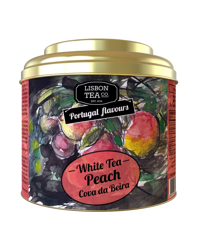 Lisbon Tea Cova da Beira Peach White Tea - 35g