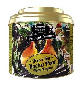 Lisbon Tea Chá Verde Pêra Rocha do Oeste - 75g